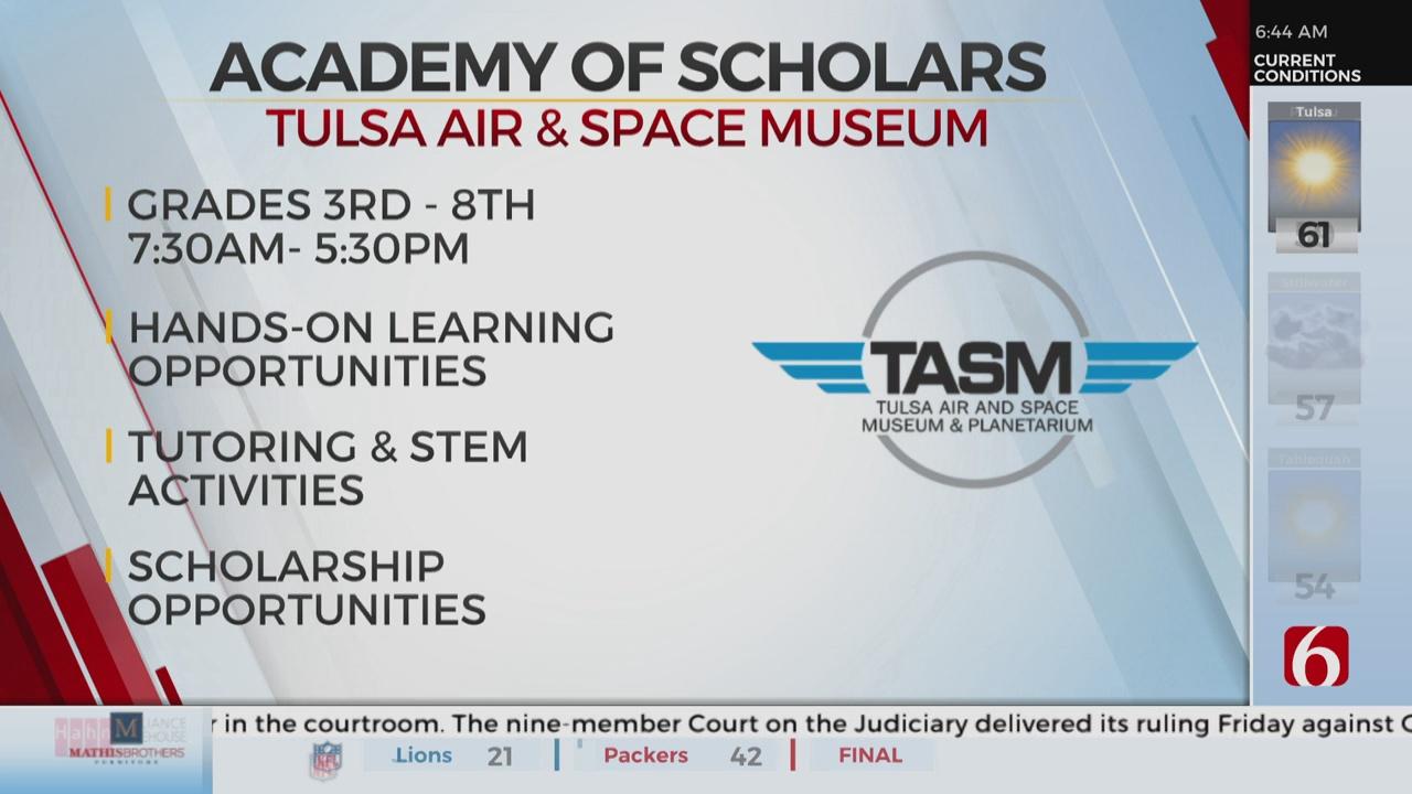 Tulsa Air And Space Museum Kicks Off New Program
