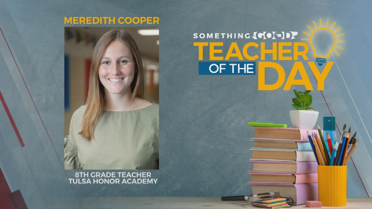 Teacher of the Day: Meredith Cooper