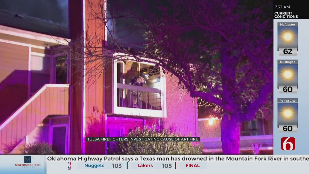 Tulsa Fire Department Investigating Early Morning Apartment fire