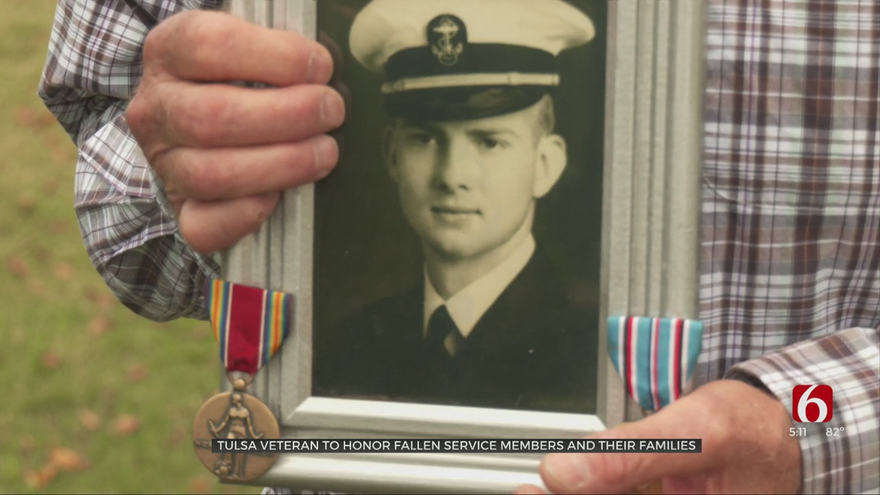 Tulsa Veteran Honors Fallen Service Members, Families With Creative Tribute