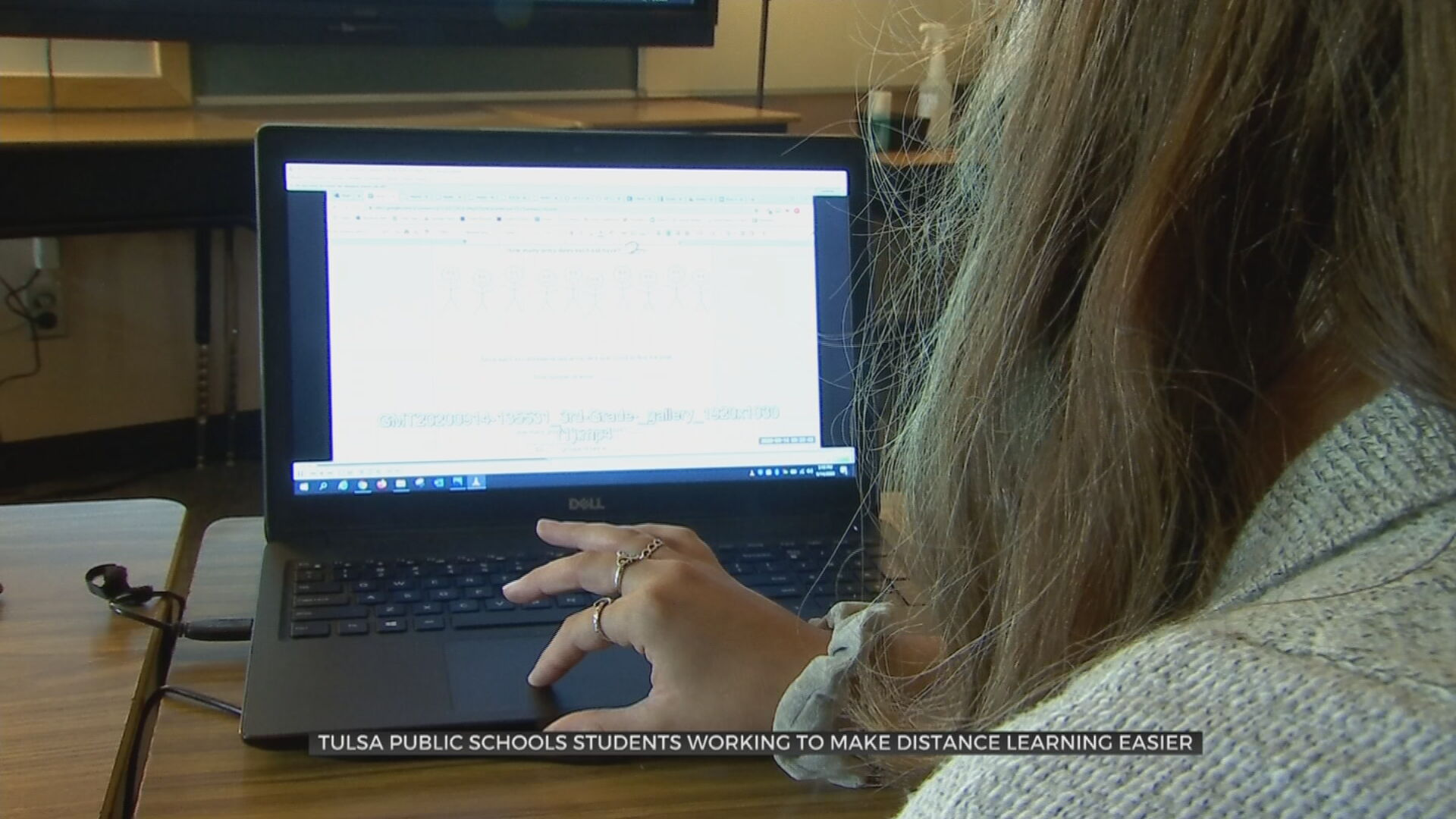 Tulsa Public Schools Students Working To Improve Distance Learning