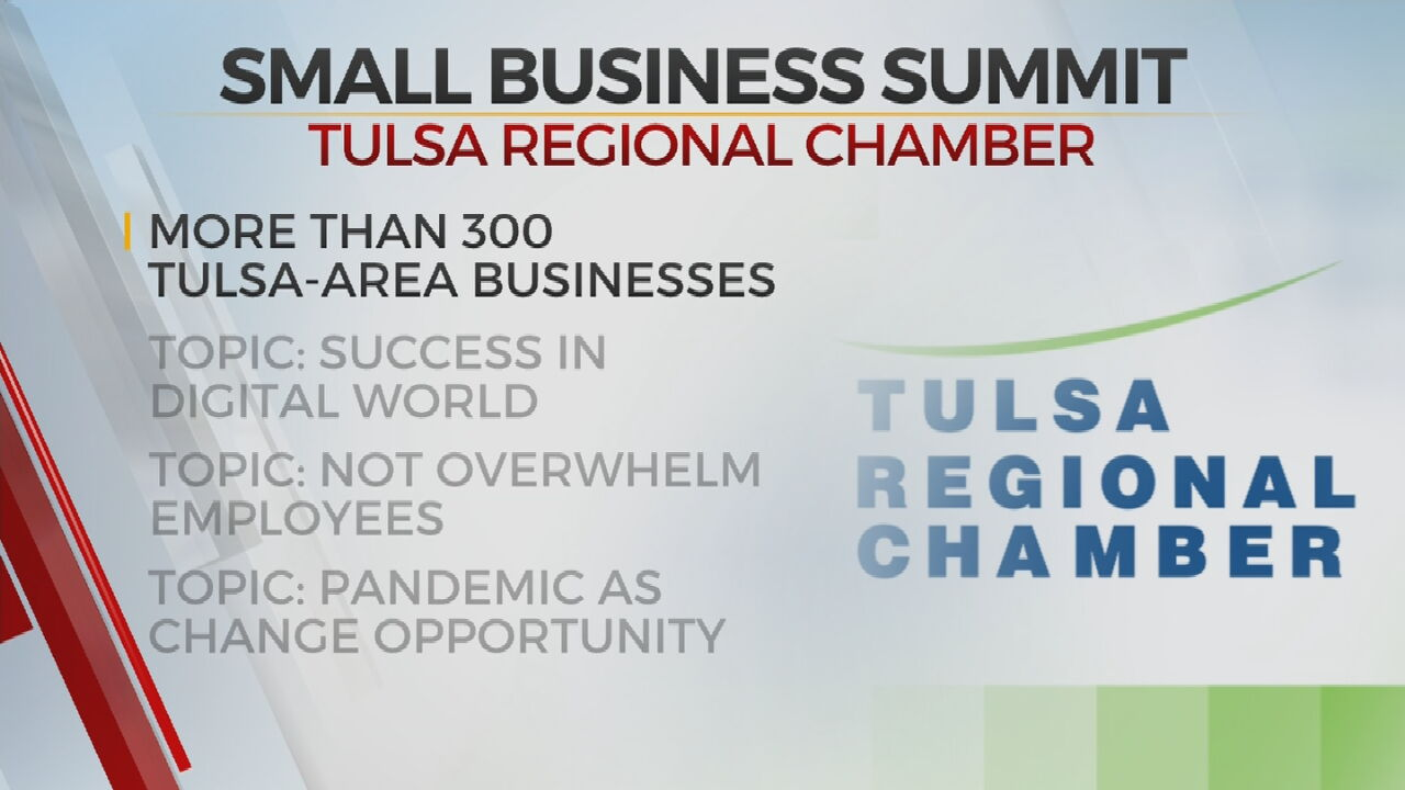 Tulsa Regional Chamber Hosts Summit To Aid Small Business Owners