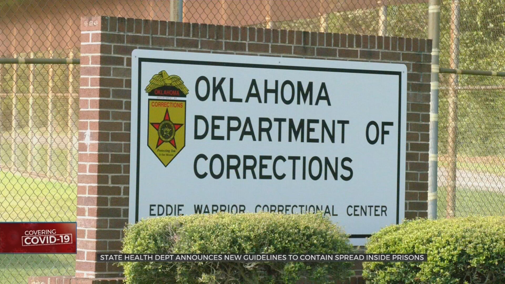 State Health Dept Announces New Guidelines To Contain COVID-19 In Prisons