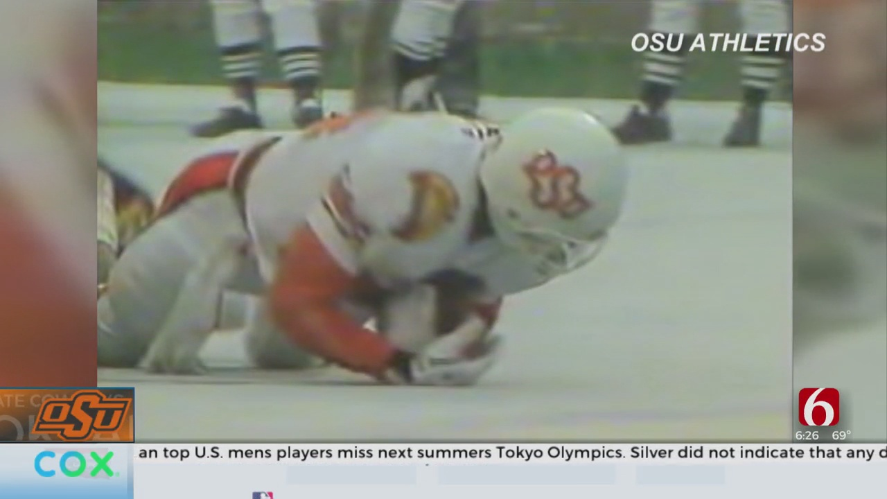 OSU Football Begins New Tradition By Honoring Cowboy Great