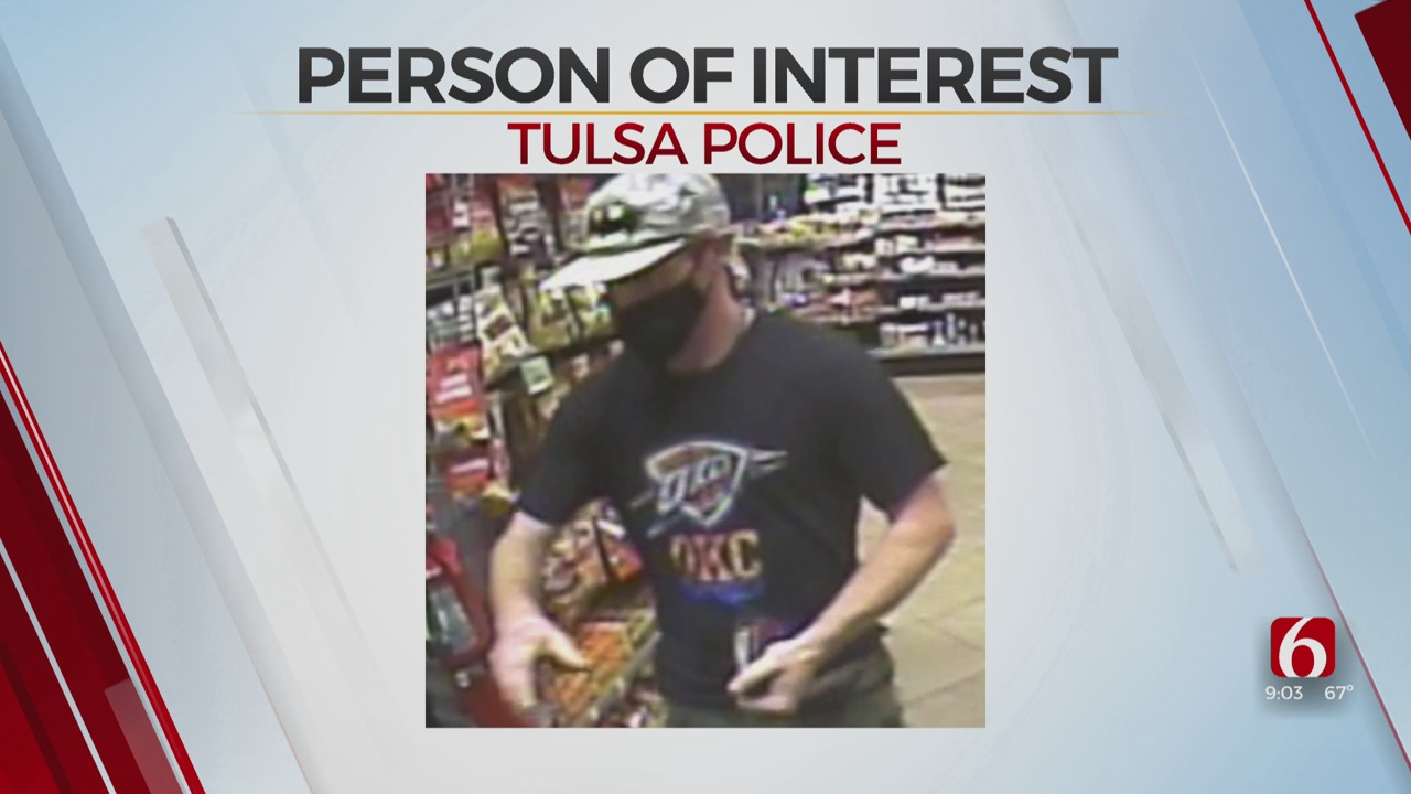 Tulsa Police Searching For Person Of Interest In Credit Card Theft
