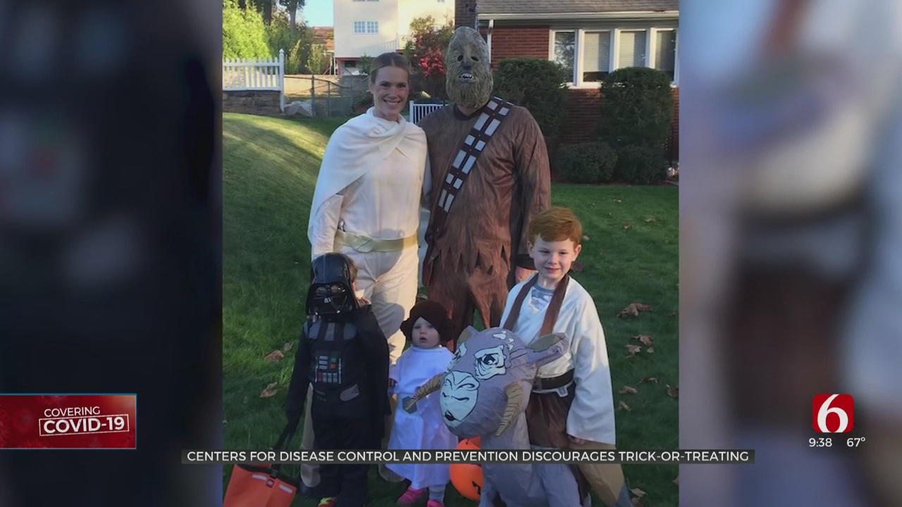 CDC Discourages Traditional Trick-Or-Treating This Year