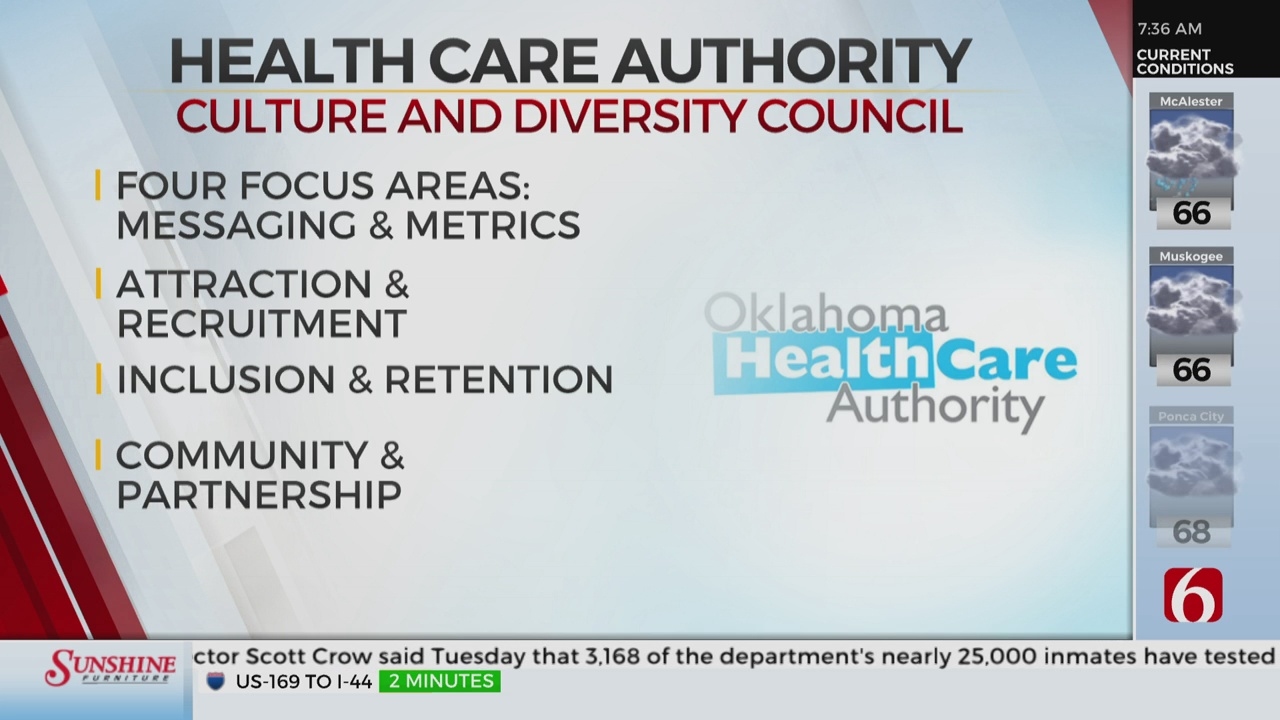 Oklahoma Health Care Authority Creates Culture and Diversity Council.