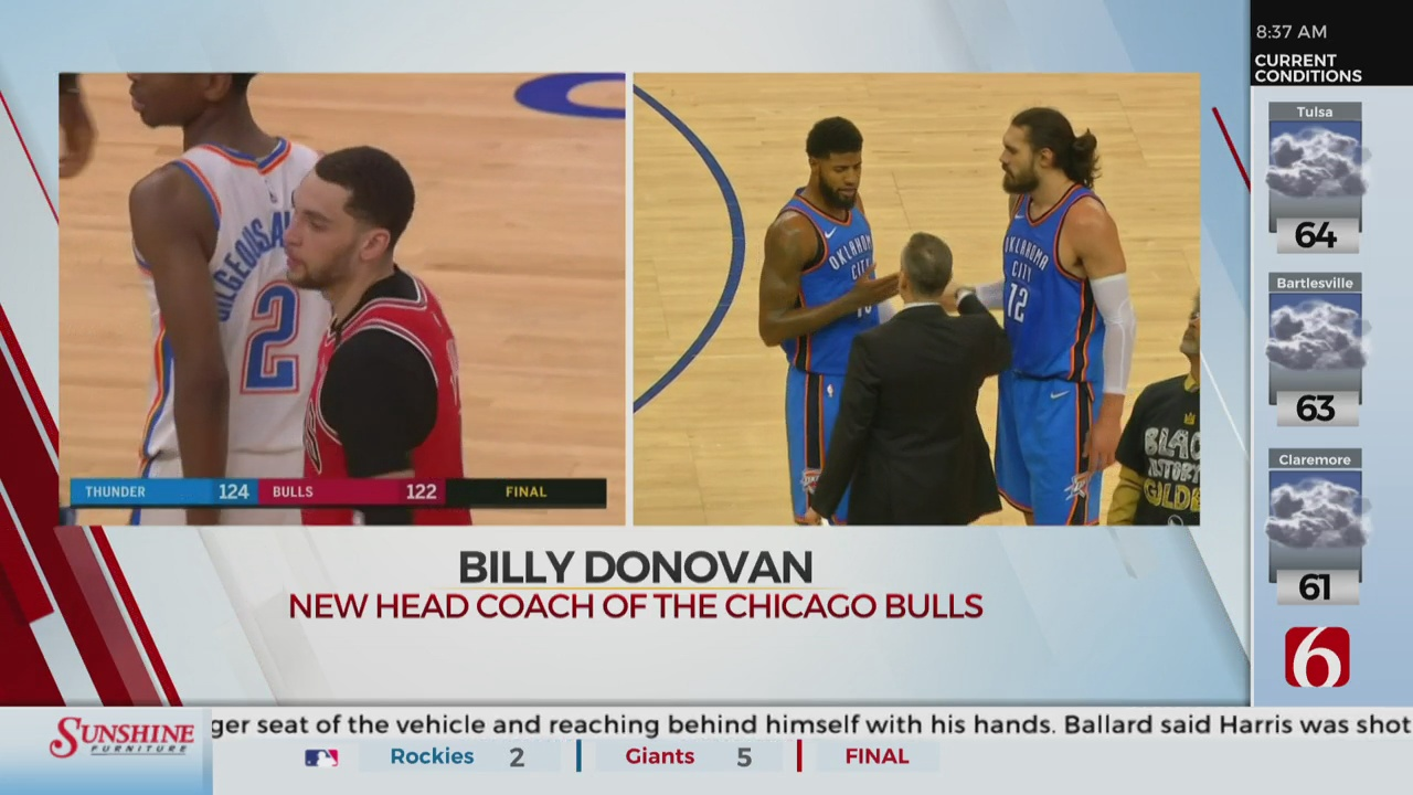 ily Donovan Signs With The Bulls
