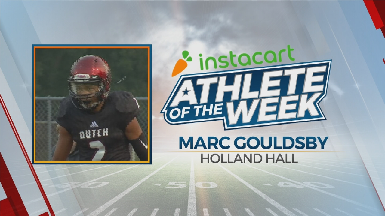 Instacart Athlete Of The Week: Marc Gouldsby Of Holland Hall