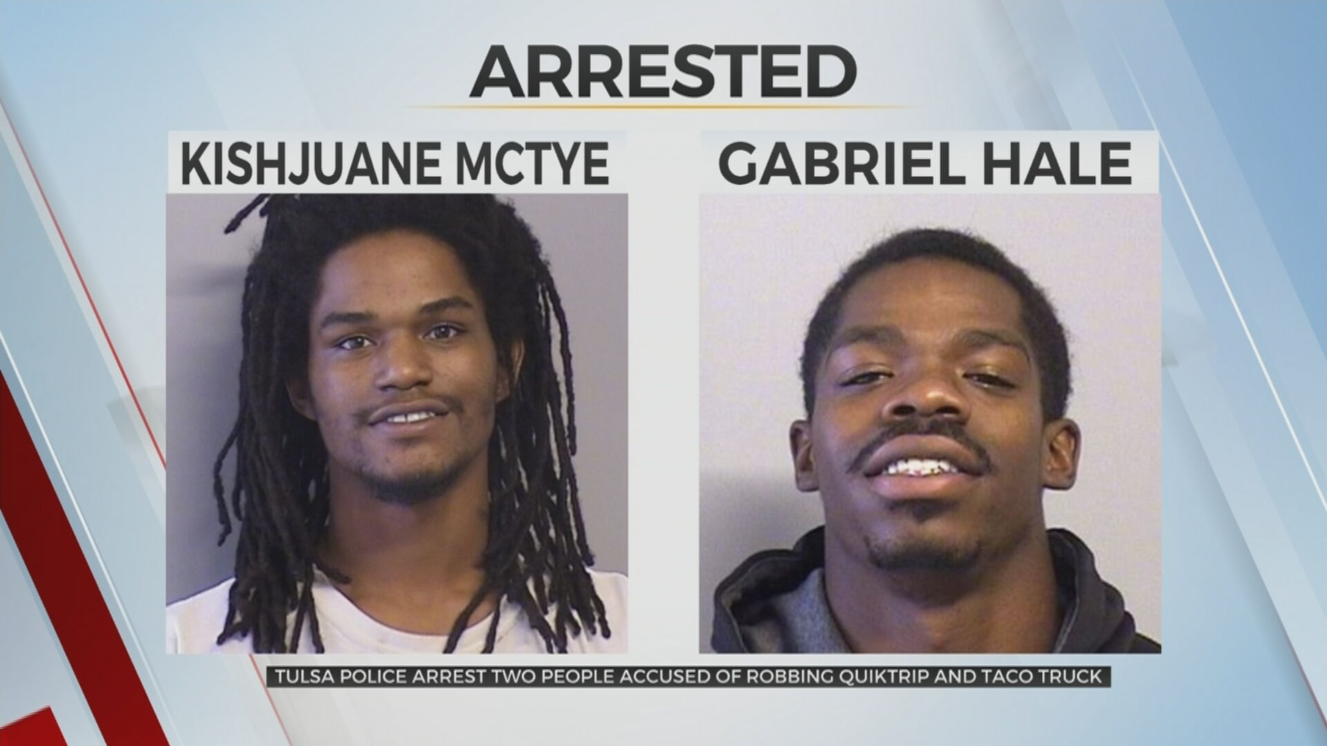 Tulsa Police Arrest 2 Men Accused Of Back-To-Back Armed Robberies