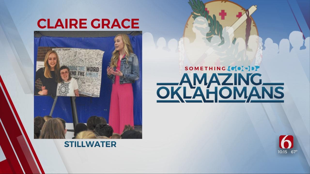 Amazing Oklahoman: Claire Grace