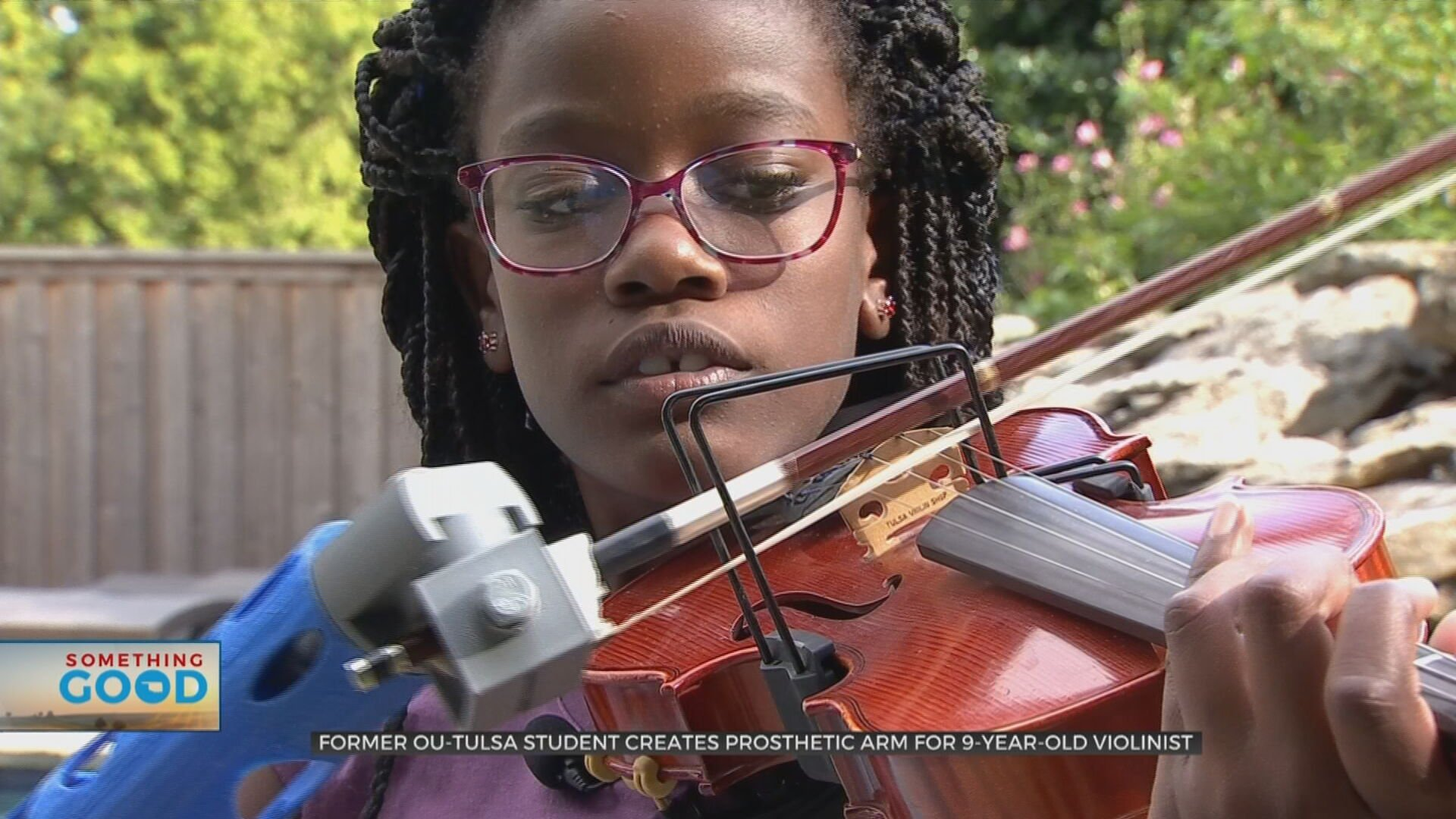 9-Year-Old Violinist Defies Odds With Help Of Former OU-Tulsa Student