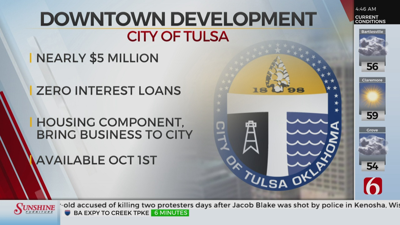 City Of Tulsa Making $5M Available In Downtown Development Loans