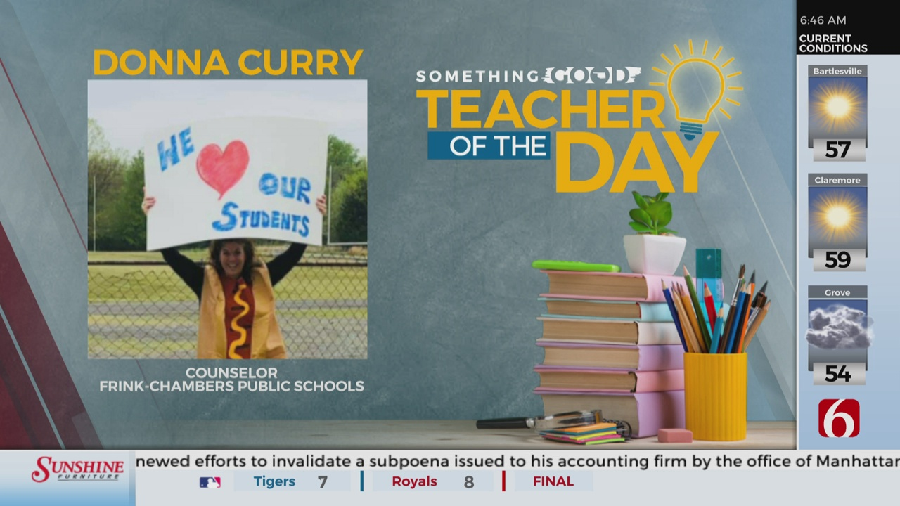 Teacher Of The Day: Donna Curry