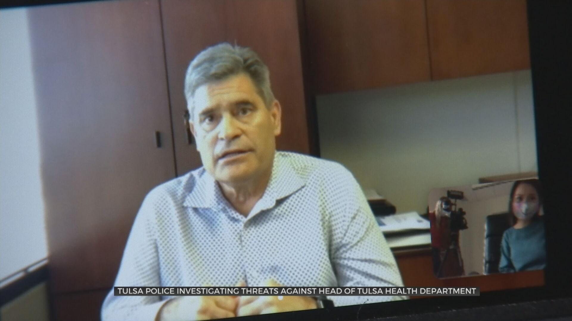 Police Investigate Threats Against Head Of Tulsa Health Department