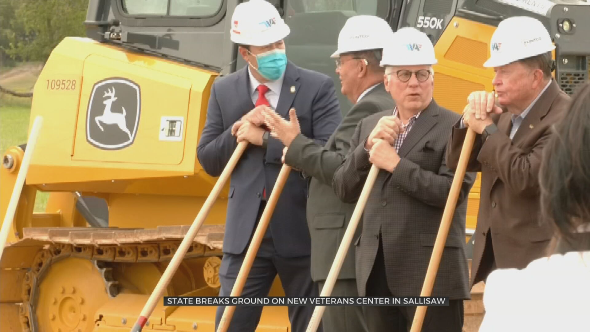 Groundbreaking Ceremony Held For New Veterans Home In Sallisaw