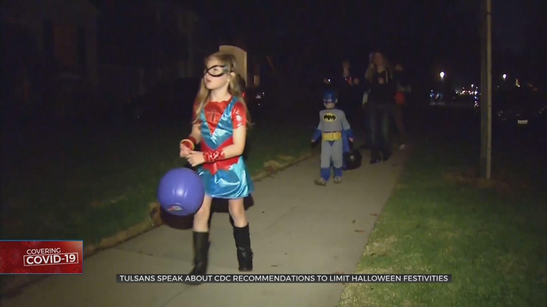 Tulsans Try To Balance Fun, Safety For Halloween Trick-Or-Treating