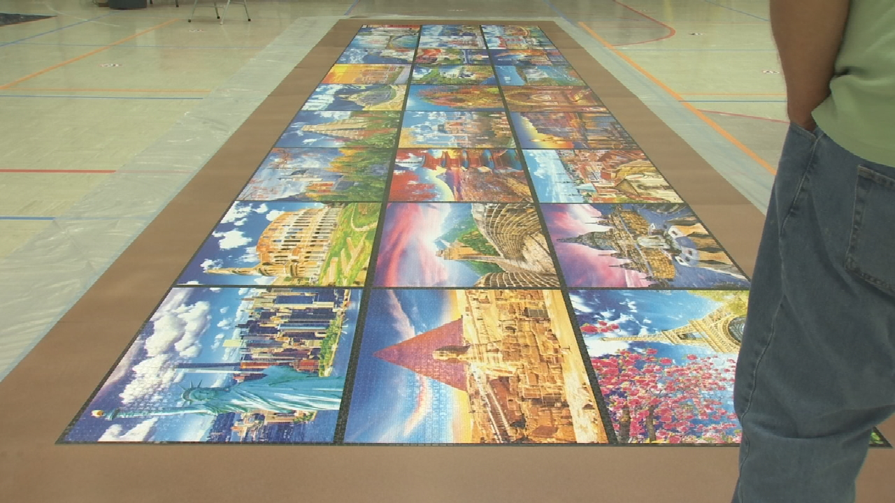 Tulsa Church Finishes 'World's Largest Puzzle Since The Pandemic Started'