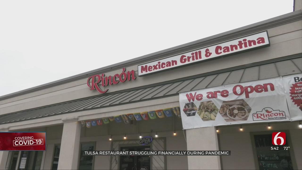 Tulsa Restaurant Struggling Financially During Pandemic