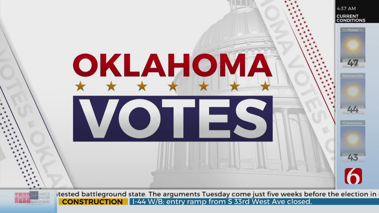 250 Thousand Absentee Ballots Requested In Oklahoma