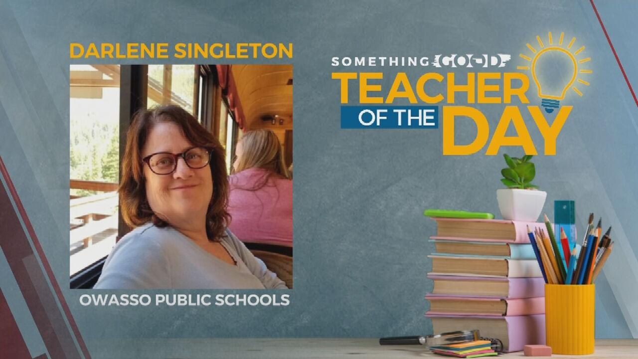 Teacher Of The Day: Darlene Singleton