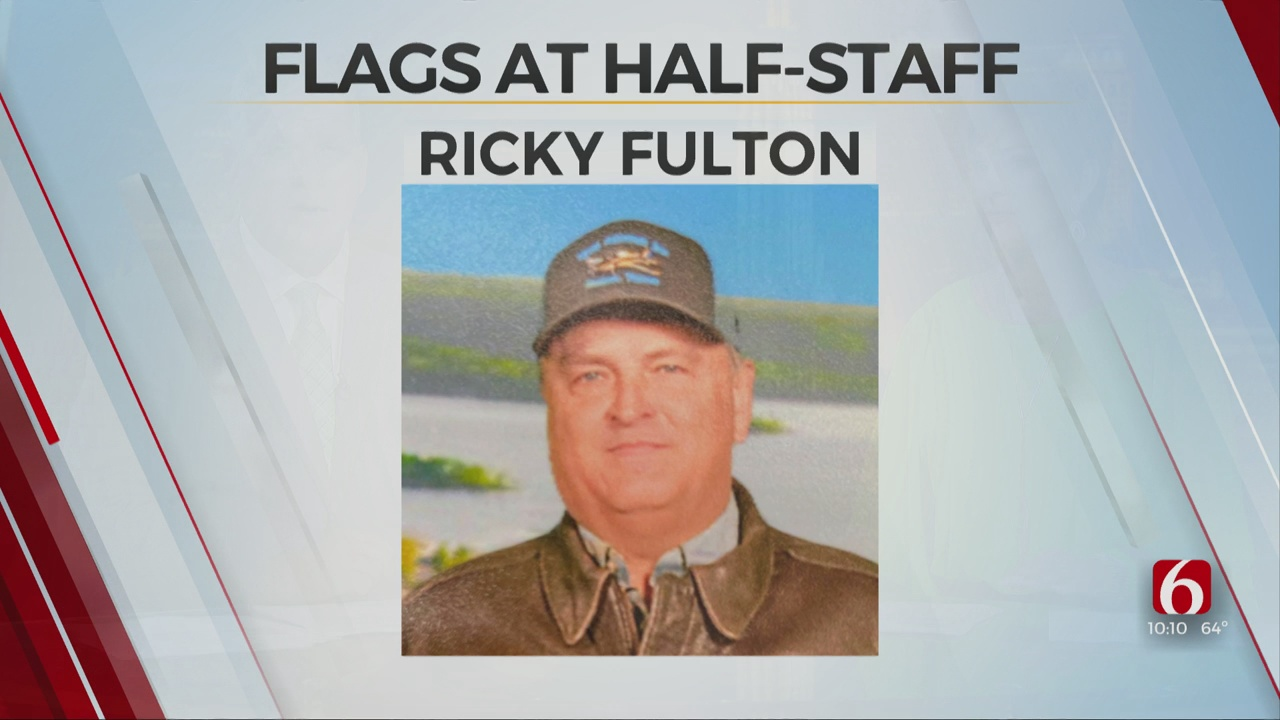 Governor Orders Flags To Half Staff To Honor Oklahoma Firefighter