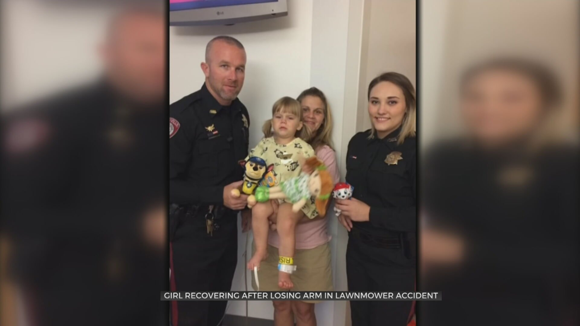Kellyville First Responders Help Save Toddler's Life After Lawnmower Incident