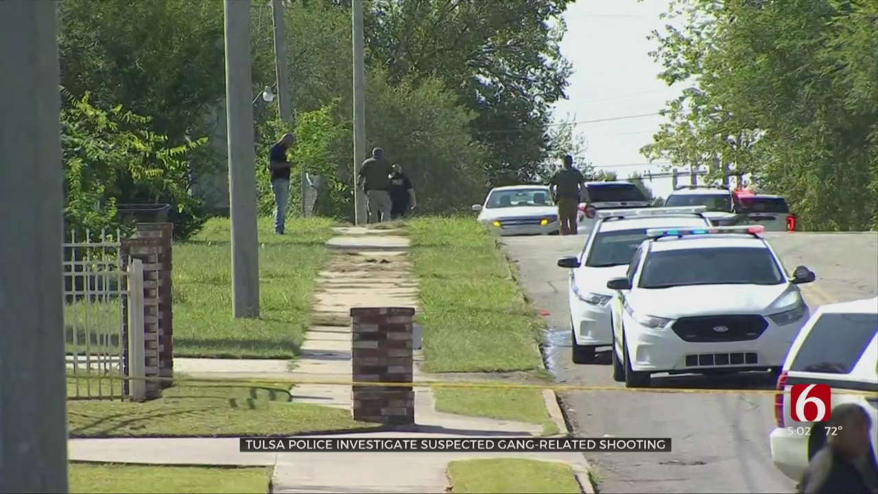 Tulsa Police Investigate Suspected Gang-Related Shooting
