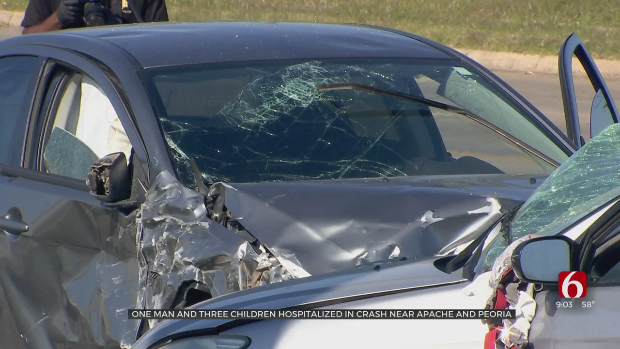 TPD: Four People Are Hospitalized Following Collision
