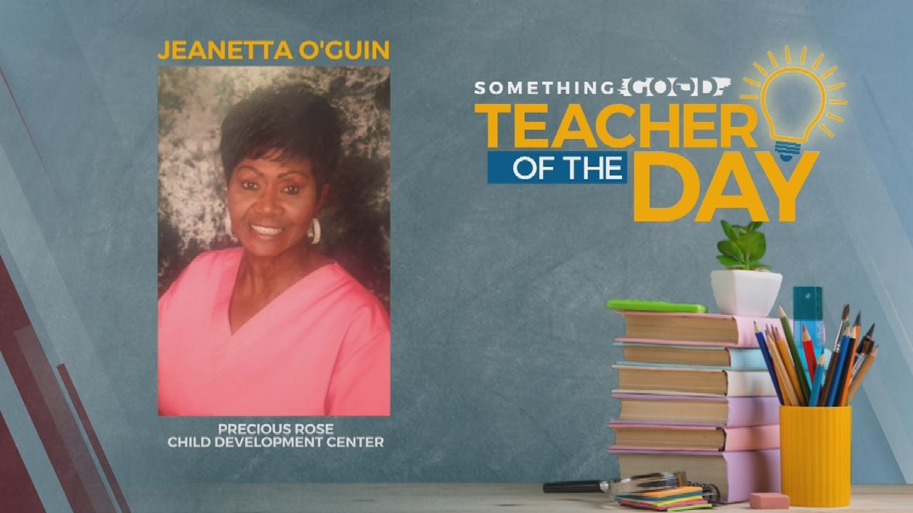 Teacher Of The Day: Jeanetta O'Gunn
