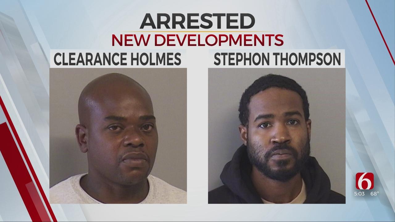 Tulsa Police Arrest 2 Suspected Of Shooting, Killing Man