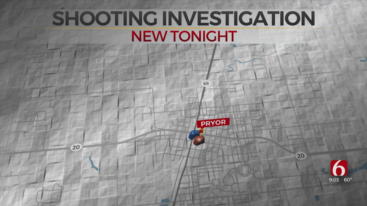 Pryor Police Searching For Shooting Suspect