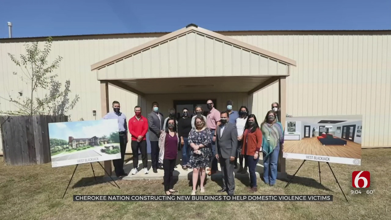 Cherokee Nation Constructing New Buildings To Help Domestic Violence Victims