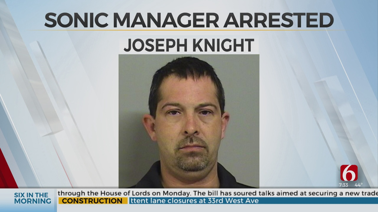 Owasso Sonic Manager Arrested For Sexual Battery, Child Abuse, Police Say