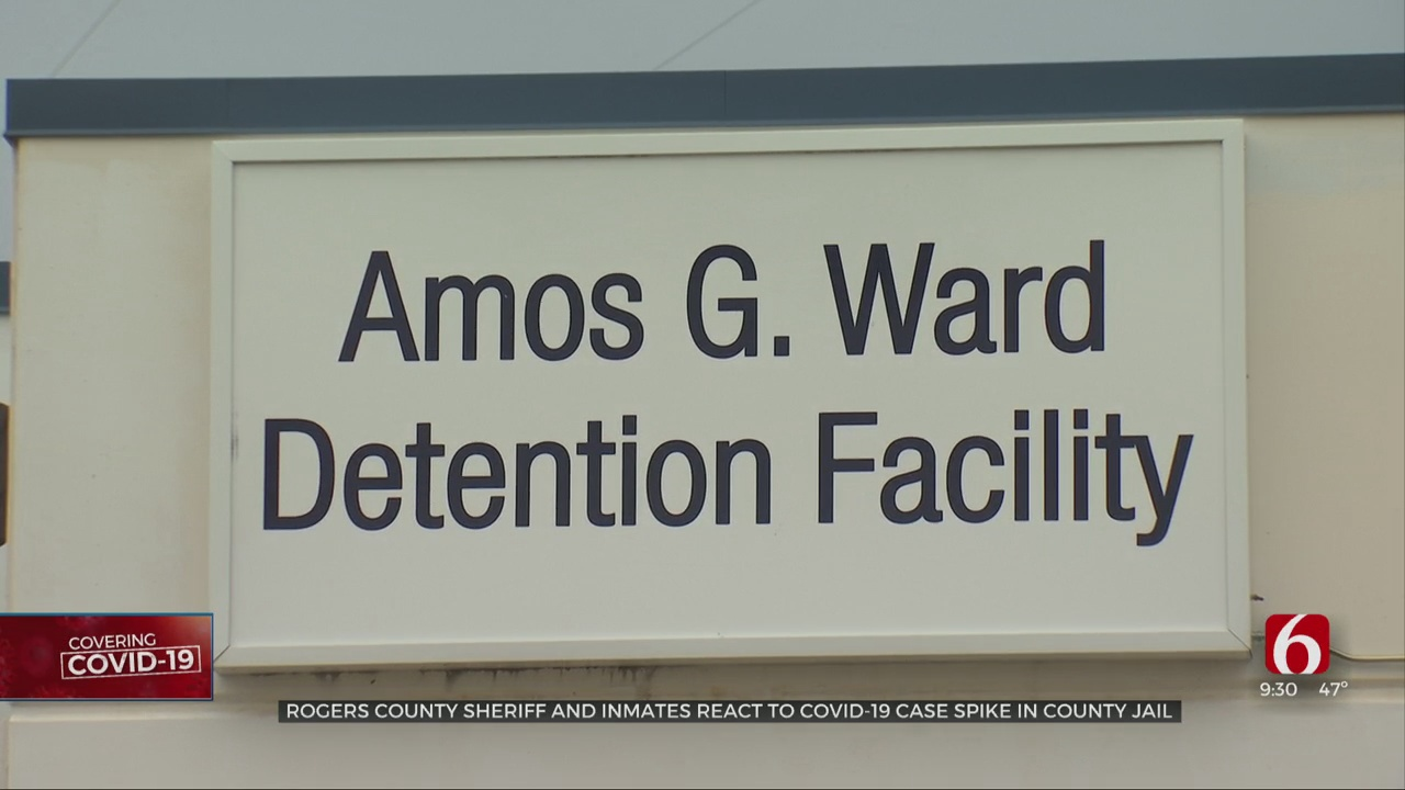 Rogers Co. Sheriff, Inmates React To COVID-19 Spike In Jail
