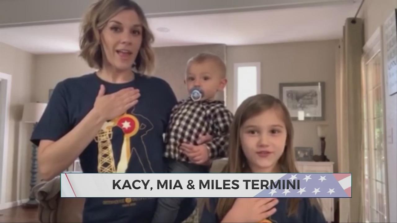 Daily Pledge: Kacy, Mia & Miles Termini