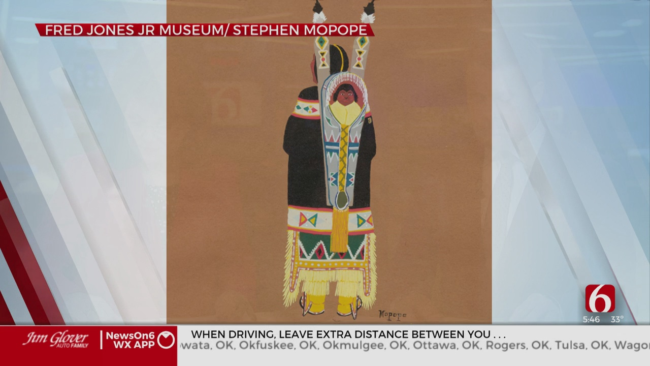 Fred Jones Jr. Museum Exhibit Features Works By The 'Kiowa Six'