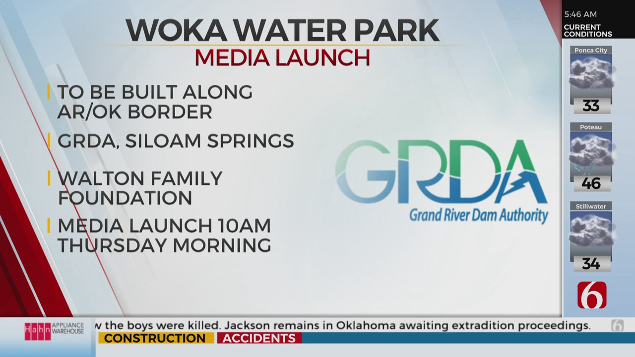 Grand River Dam Authority Announces New White-Water Park