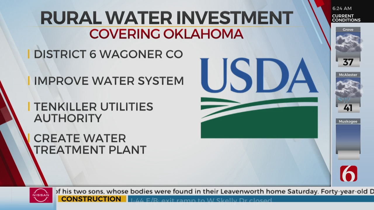 USDA Investing Millions Into Oklahoma Rural Water