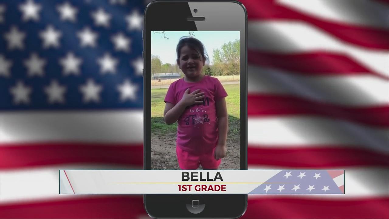Daily Pledge: First-Grader Bella