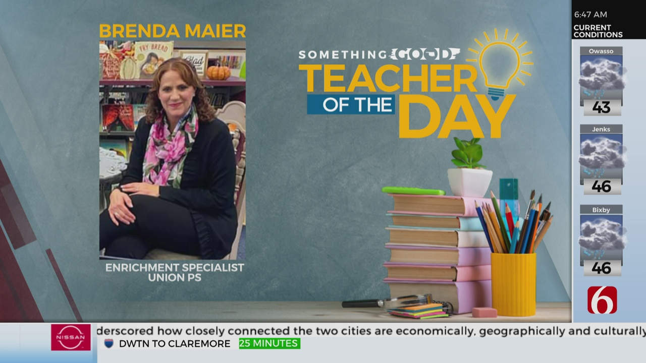 Teacher Of The Day: Brenda Maier