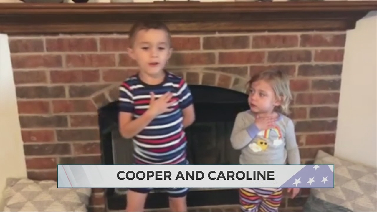 Daily Pledge: Cooper and Caroline