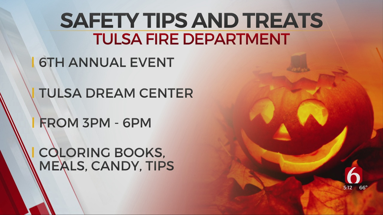 Tulsa Fire Department Hosts Halloween Tips & Treats Event