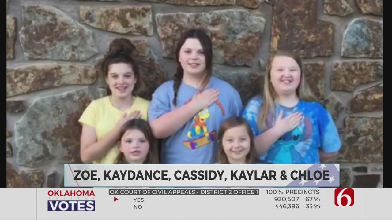 Daily PLedge: Zoe, Kaydance, Kaylar, Chloe