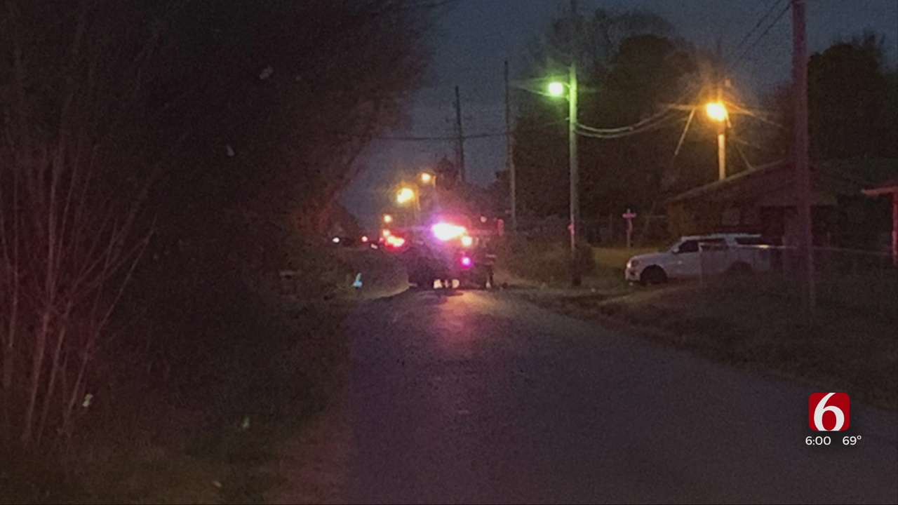 Homes Evacuated After Gas Line Hit In Morris