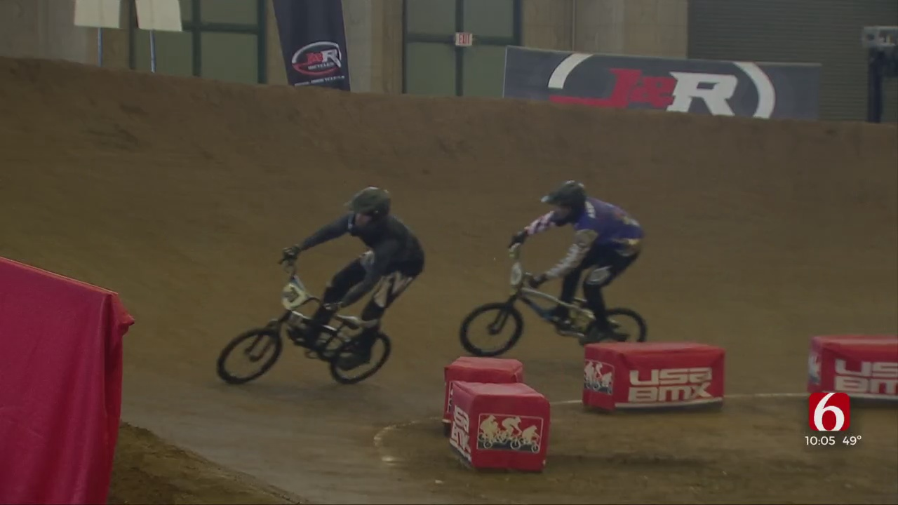 Thousands Spend Thanksgiving At BMX Grand Nationals Event