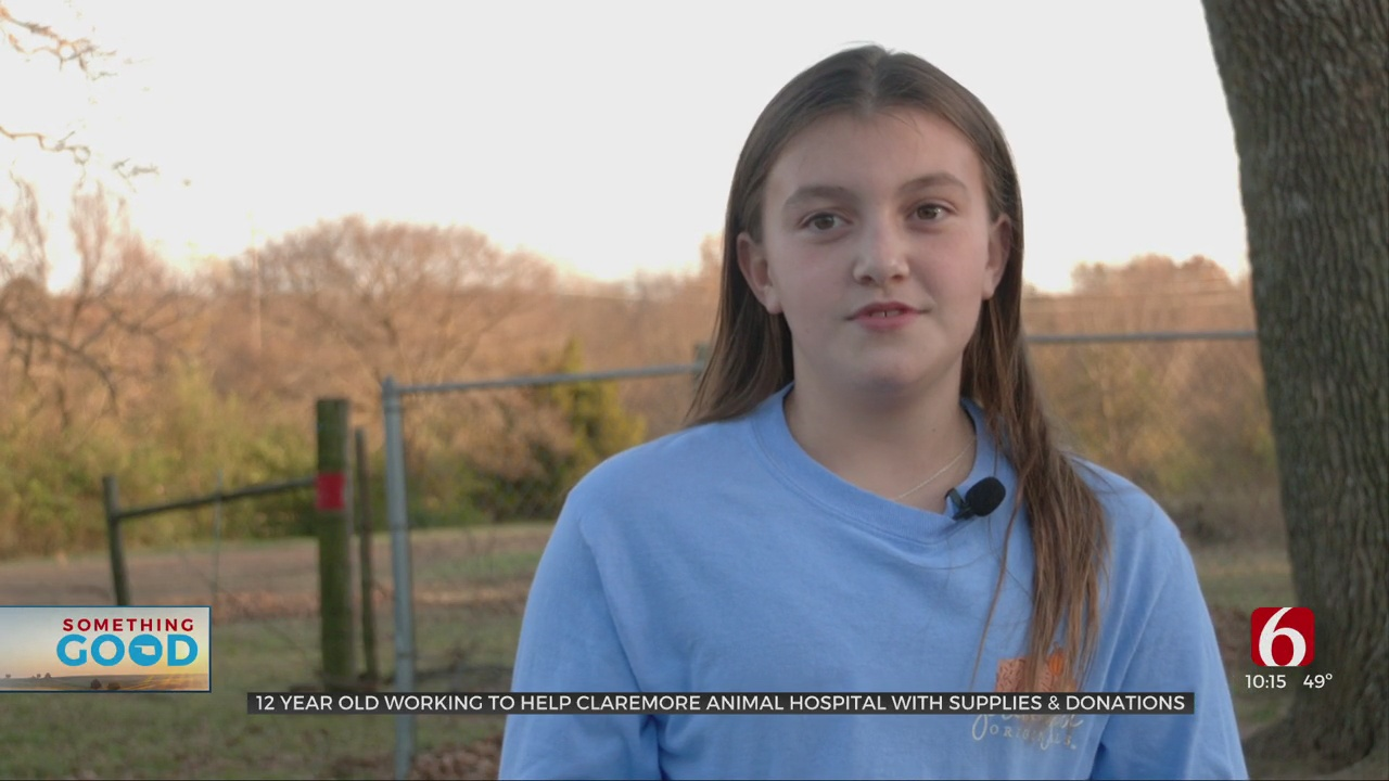 12-Year-Old Rogers County Girl Hosting Animal Fundraiser