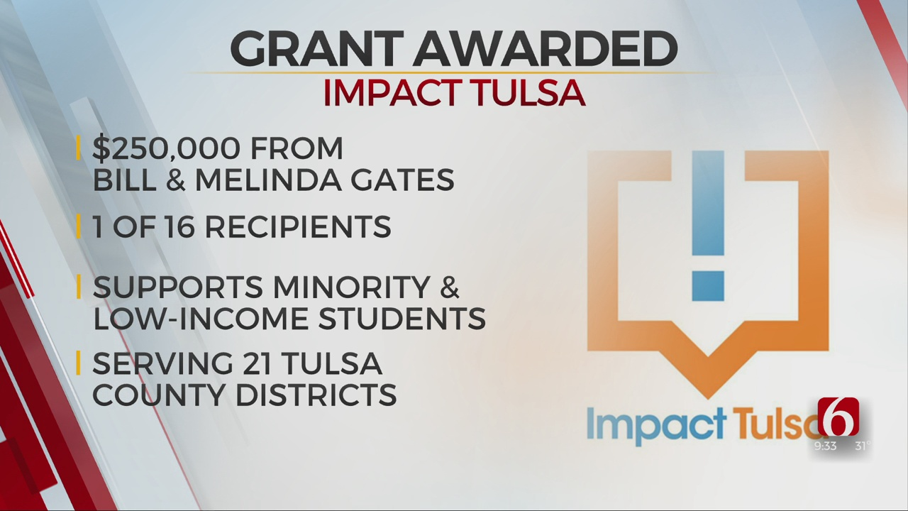 Impact Tulsa Receives Grant To Help Support Tulsa-Area Schools