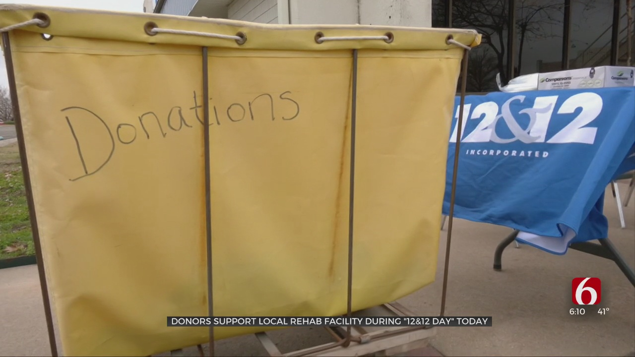12&12 Recovery Center's Annual Donation Drive Brings In Thousands Of Dollars, Items