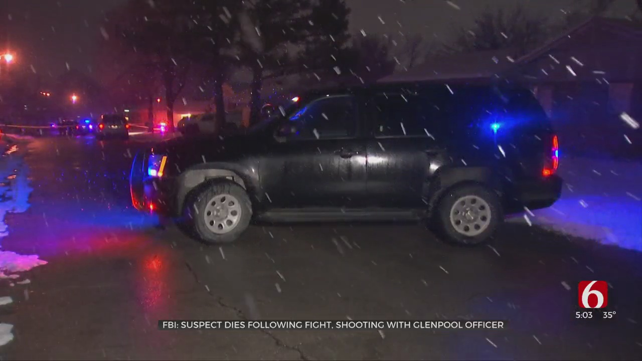 FBI Confirms Man Shot During Fight With Glenpool Officer Died